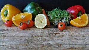 Vitamin C rich diet